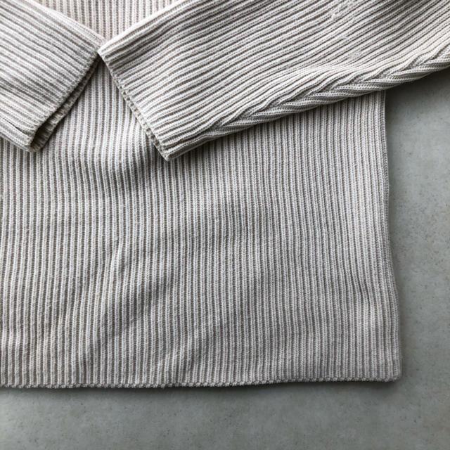 1LDK SELECT(ワンエルディーケーセレクト)の[AURALEE]SUPERFINE WOOL RIB KNIT BIG P/O メンズのトップス(ニット/セーター)の商品写真