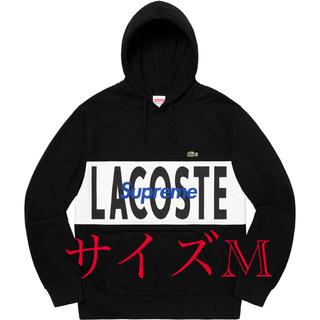 シュプリーム(Supreme)のSupreme LACOSTE Logo Panel Hooded Mサイズ(パーカー)