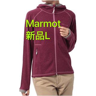 マーモット(MARMOT)の新品L  マーモットMarmot ウィメンズクライムウールストレッチパーカー(登山用品)