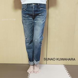 スナオクワハラ(sunaokuwahara)のSUNAO KUWAHARA デニム(デニム/ジーンズ)
