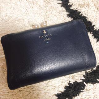 ランバン(LANVIN)のランバン  財布 がま口(財布)
