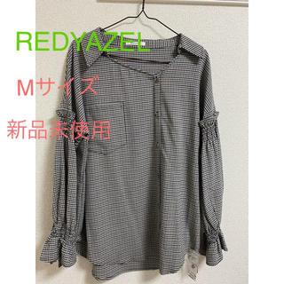 レディアゼル(REDYAZEL)のREDYAZEL シャツ Mサイズ 新品未使用(シャツ/ブラウス(長袖/七分))