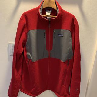 パタゴニア(patagonia)のパタゴニア フリース LLサイズ 赤色(パーカー)