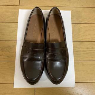 フリークスストア(FREAK'S STORE)のFREAK'S STORE 本革ローファー ダークブラウン size37(ローファー/革靴)