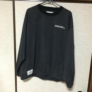 W)taps - wtaps smock jacket satin 18ss black M