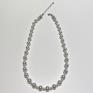 KAPITAL - pearl beads necklace パールビーズネックレス