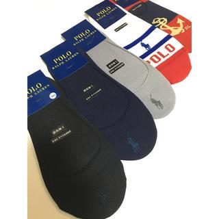 POLO RALPH LAUREN - ポロ ラルフローレン 靴下 ブランドソックス フットカバー スニーカーソックス