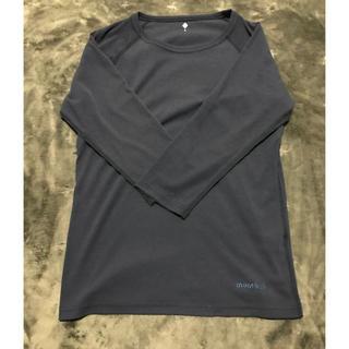 モンベル(mont bell)のモンベル 七分袖 レディース l(Tシャツ(長袖/七分))