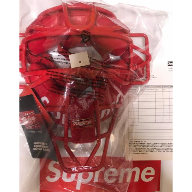 Supreme(シュプリーム)のSupreme シュプリーム ×  ローリングス キャッチャー マスク スポーツ/アウトドアの野球(防具)の商品写真
