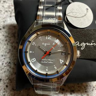アニエスベー(agnes b.)の新品 アニエスベー メンズ ソーラー マルセイユ電波 FBRY994(腕時計(アナログ))
