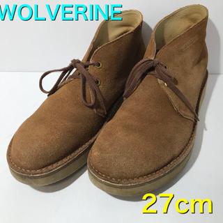 ウルヴァリン(WOLVERINE)のウルヴァリン WOLVERINE デザートブーツ 27cm表記(ブーツ)