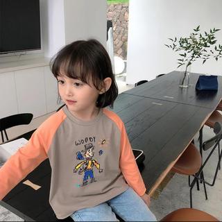 トイ・ストーリー - トイストーリー ウッディ ロンT 長袖 長袖Tシャツ