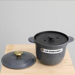 ルクルーゼ(LE CREUSET)の新品 ル・クルーゼ アダムエロペ別注 ココット・エブリィ18cm 中蓋(鍋/フライパン)