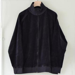 コモリ(COMOLI)のcomoli ベロアジャージトラックジャケット サイズ2(ジャージ)