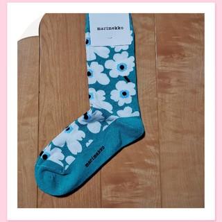 マリメッコ(marimekko)のマリメッコ❤ 定番柄ウニッコの靴下(ソックス)
