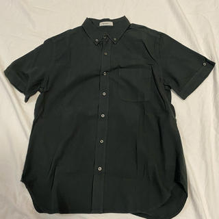 niko and... - ニコアンド ボタンダウンシャツ 4 半袖 スミクロ