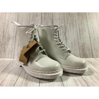 ドクターマーチン(Dr.Martens)の新品 未使用品ドクターマーチン☆☆オールホワイト☆☆8ホール(ブーツ)