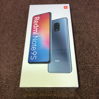 ANDROID - Xiaomi Redmi Note9S 4GB/64GB インターステラーグレー