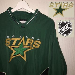 NIKE - 古着 ナイロン ピステ NHL dallas stars