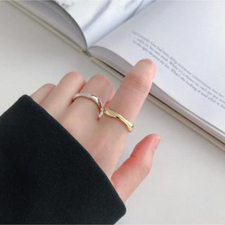 デザインリング 金 シルバー925 スターリングシルバー ゴールドリング(リング(指輪))