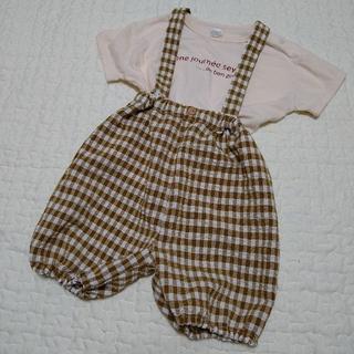 プティマイン(petit main)のteteatete テータテート Tシャツ&サロペット(Tシャツ)