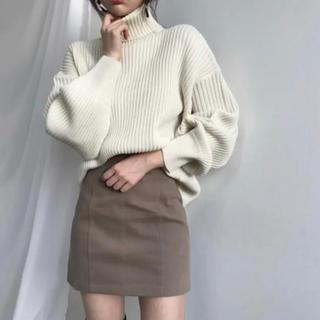ZARA - 秋冬 ニット ハイネックセーター