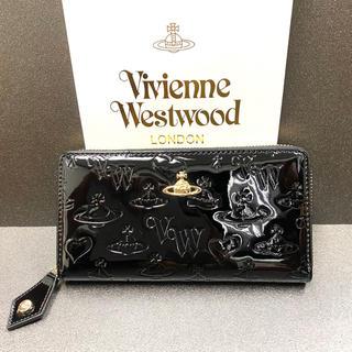 Vivienne Westwood - Vivienne Westwood 長財布 ラウンドファスナー エナメル