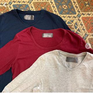 ダブルジェーケー(wjk)のwjk / 長袖カットソー 3点セット(Tシャツ/カットソー(七分/長袖))
