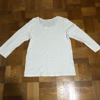イッカ(ikka)の【ikka】白Tシャツ(Tシャツ(長袖/七分))
