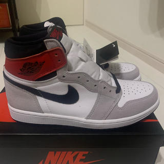 NIKE - nike air jordan 1 smoke grey
