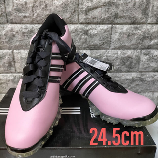 adidas - 【新品未使用】アディダス ゴルフシューズ レディース 24.5㎝