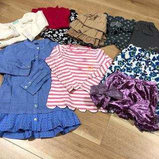 ハッカキッズ(hakka kids)の110センチ 10着セット (Tシャツ/カットソー)