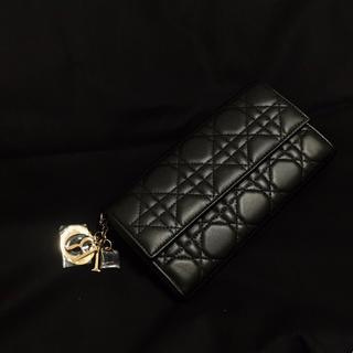 Christian Dior - 【新品】Dior  カナージュ長財布 黒