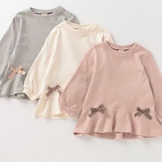 petit main - プティマイン ペプラムTシャツ 100cm