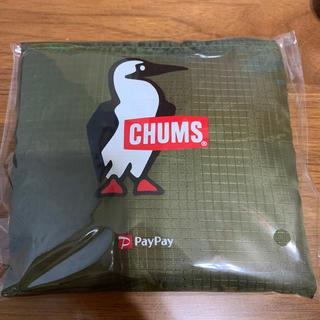CHUMS - chums エコバッグ グリーン系 ペンギン