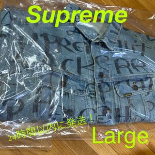 Supreme - supreme Black Ark Denim Trucker Jacket