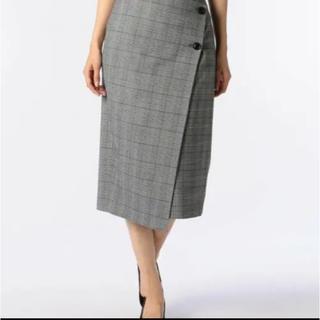 ノーリーズ(NOLLEY'S)のノーリーズ タイトスカート ラップスカート 36サイズ(ひざ丈スカート)