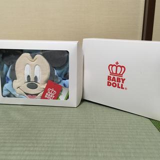ベビードール(BABYDOLL)の新品 未使用 Mickey BABYDoLL ベビーポンチョ(カーディガン/ボレロ)