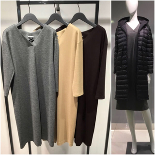Theory luxe - theory luxe 19AW ウールジャージーワンピース