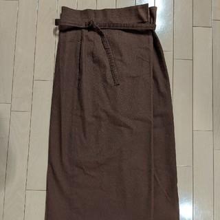 ハコ(haco!)の巻きスカート(ひざ丈スカート)