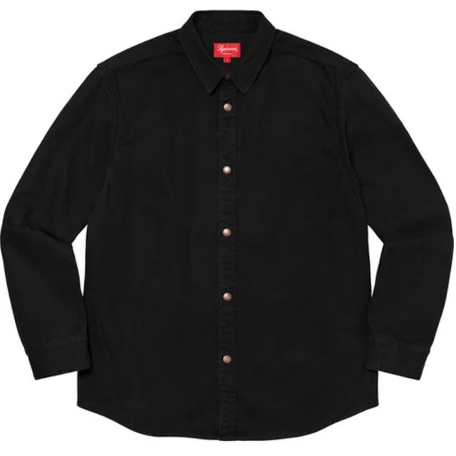 Supreme(シュプリーム)の【定価以下】Supreme Logo Taping Work Shirt メンズのトップス(シャツ)の商品写真