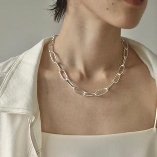 トゥデイフル(TODAYFUL)の即納_Silver925_Oval chain necklace (ネックレス)