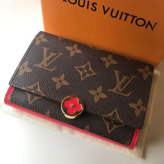 LOUIS VUITTON - LOUIS VUITTON モノグラム フロール コンパクト