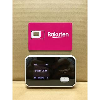 Rakuten - 楽天UN-LIMIT 設定済 SIMフリーWiFiルーター 小型大容量バッテリー