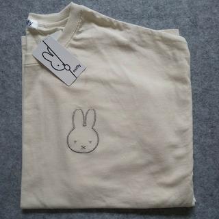 [新品]ミッフィー miffy ロンティー 刺繍(Tシャツ(長袖/七分))