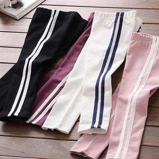 KTDA029春秋子供服 スポーツウェア サイドライン パンツ ズボン(ボード)