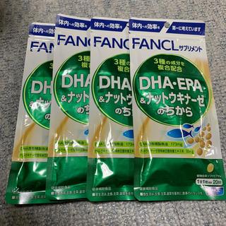 FANCL - 【FANCL】 DHA.EPA&ナットウキナーゼのちから