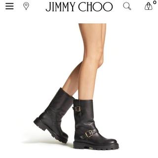 JIMMY CHOO - Jimmy Choo バイカー エンジニアブーツ 36.5