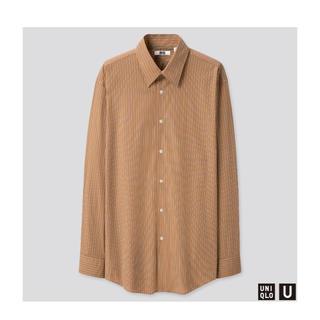 UNIQLO - 【L】UNIQLO U ブロードストライプシャツ ユニクロ ユー ルメール
