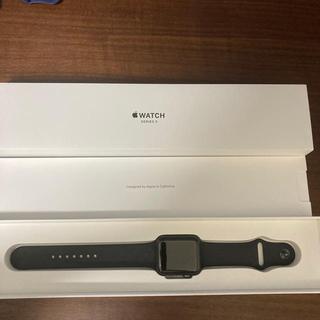 Apple Watch - Apple Watch series3 Space Gray アルミニウム 美品